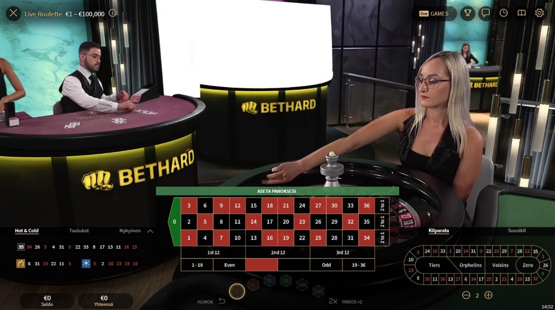 bethard live kasino