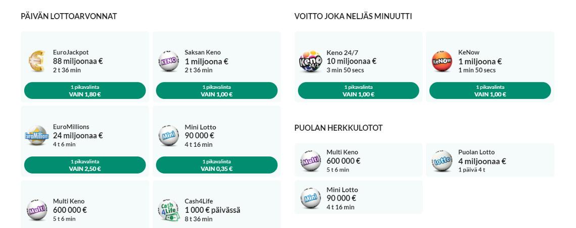 Casinohuone lotto