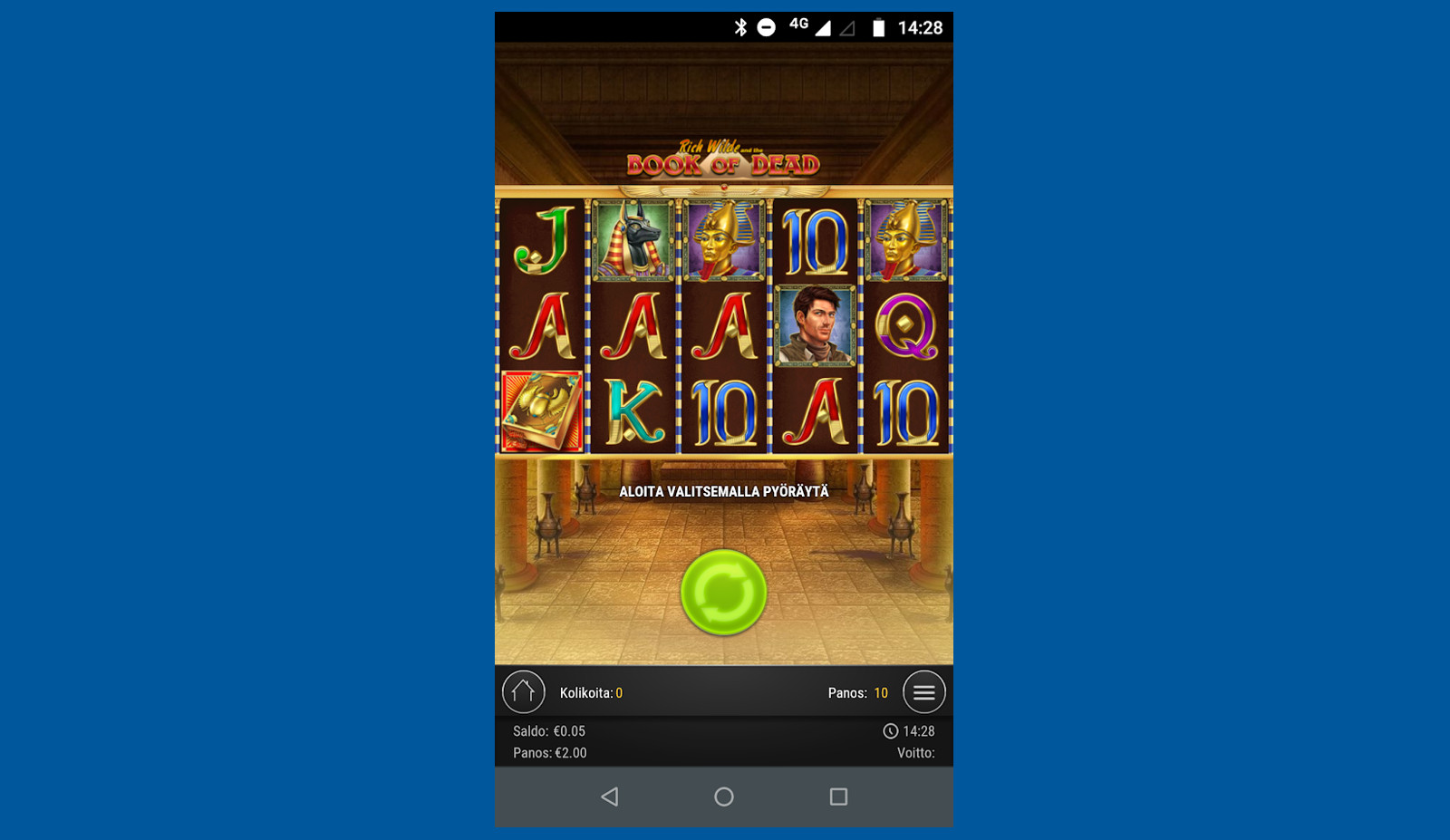 casinosovellus android kolikkopelit