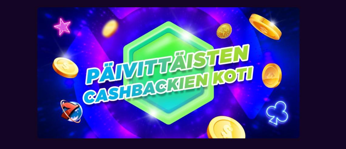megarush cashback bonus