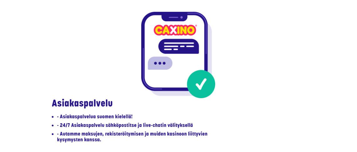 nettikasino suomalainen asiakaspalvelu