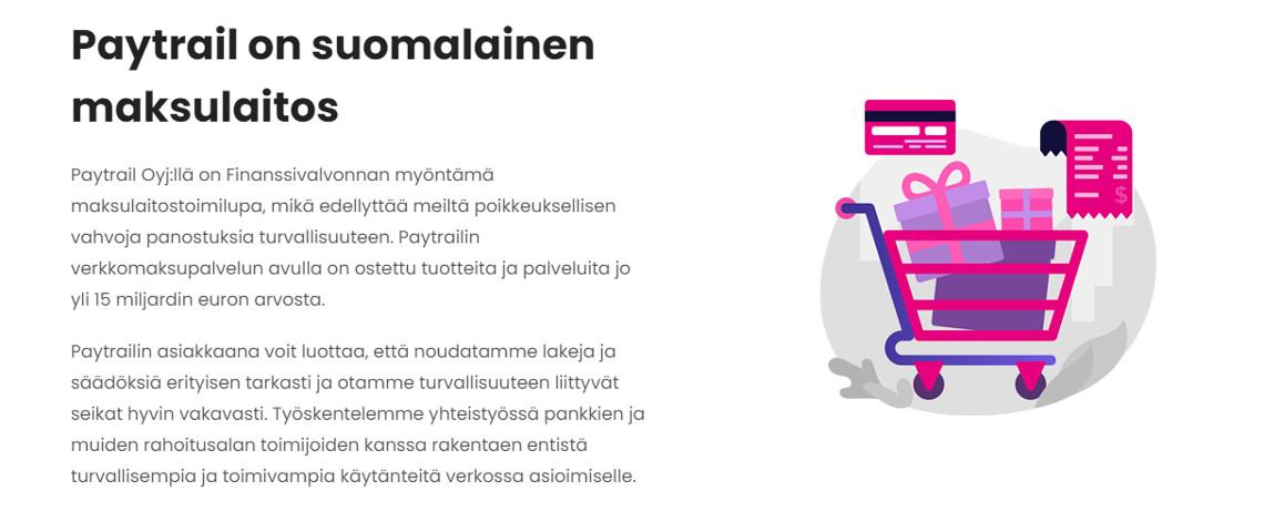paytrail suomalainen maksutapa