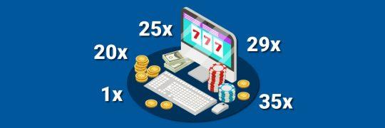 Pienin kierrätysvaatimus [year] - Casino-bonuksien pienimmät kierrätysvaatimukset